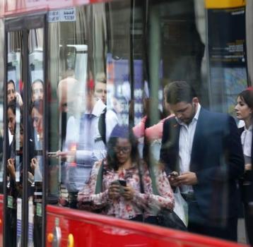 El desplazamiento de los trabajadores sin oficina son horas de trabajo