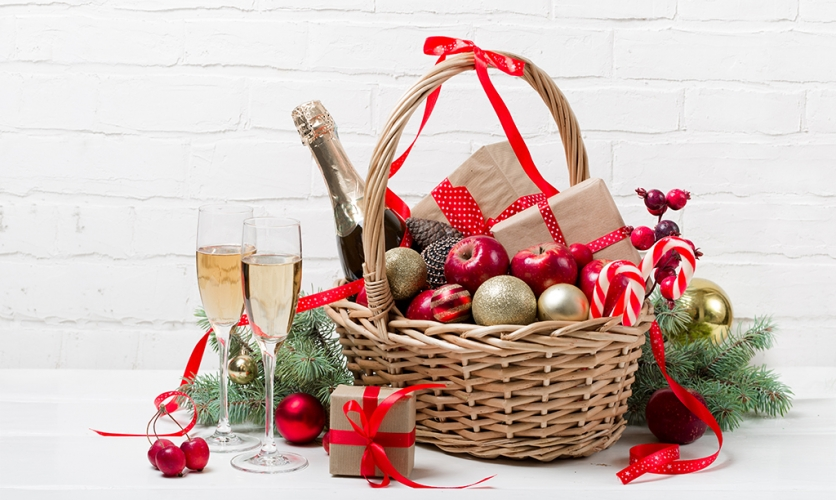 Deducción de las cestas navideñas