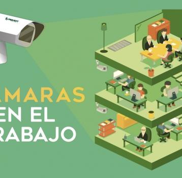 El control laboral con cámaras, legal solo si se informa al empleado