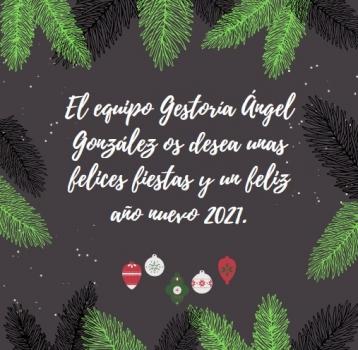 FELICES FIESTAS Y FELIZ AÑO 2021