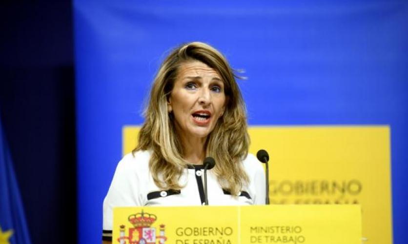 Yolanda Díaz asegura que los ERTE se prorrogarán después de septiembre