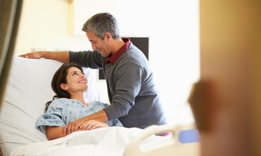 Cuidar de la esposa enferma no es sólo un deber, sino que también es un derecho